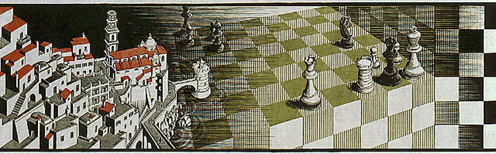 Chiara gp maurits cornelis escher chiostro del for Escher metamorfosi